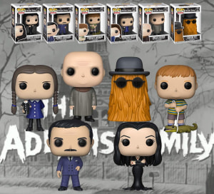 Ikon Collectables, Hunter Leisure on board for Addams Family