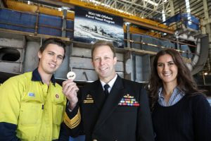 First OPV keel laid in Adelaide