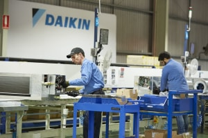 Daikin committed to local manufacturing