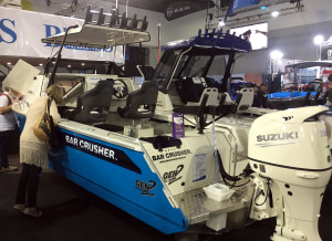 Big range of Bar Crushers at Australia's biggest boat show