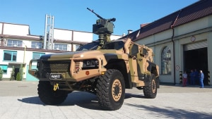 Thales signs Redarc for Hawkei power supply