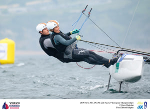 Australian family combinations finish top ten at Europeans in Weymouth