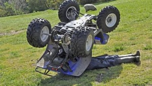 Rollover Protection for Quads and Virtual Reality Safety Training