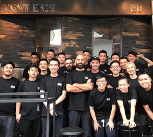 Perth chef's Singapore restaurant named number 10 in Asia's 50 Best