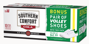 Southern Comfort walks Aussies in its shoes