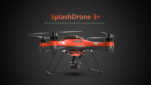 SplashDrone 3+ waterproof fishing drone