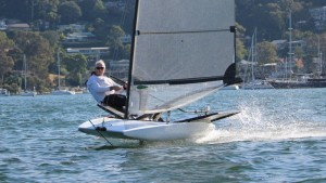 Skeeta - a foiling boat for beginners to experienced sailors