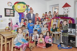 Spielwarenmesse donates 30 pallets worth of toys