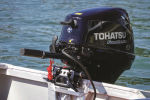 Tohatsu's new lightweight four-stroke outboard