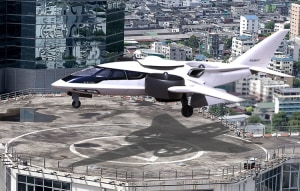 XTI Aircraft tests Trifan POC Vehicle