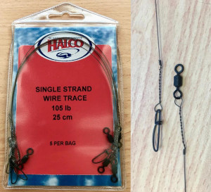 Halco single strand wire traces