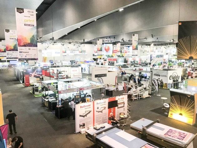PacPrint 2017 brought 150 exhibitors to Melbourne.