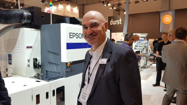 Industry leader: Marc Tinkler, Epson