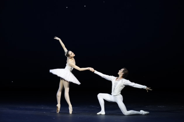 Yulia Stepanova and Artemy Belyakov. Photo: Damir Yusupov.