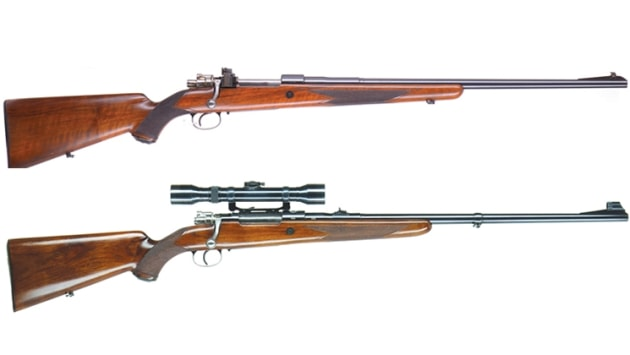 A pair of Browning FN Mausers