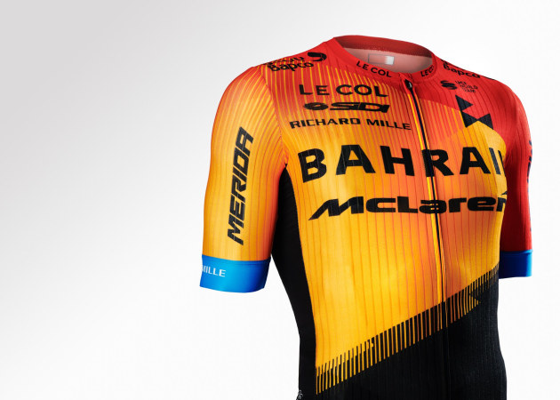 The new Bahrain McLaren jersey design. We are keen to hear your thoughts! Have your say in comments below.