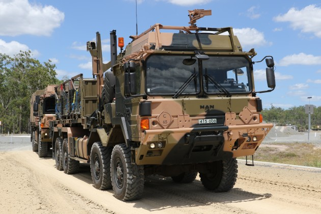 The new trucks are so large that Army now has to deal at working at height OH&S concerns. Rheinmetall