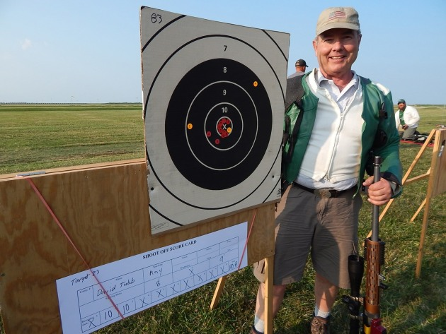 David Tubb shooting 100.8 with 6XC - image Midsouth Shooters
