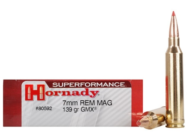 Hornady Superformance 139gn GMX