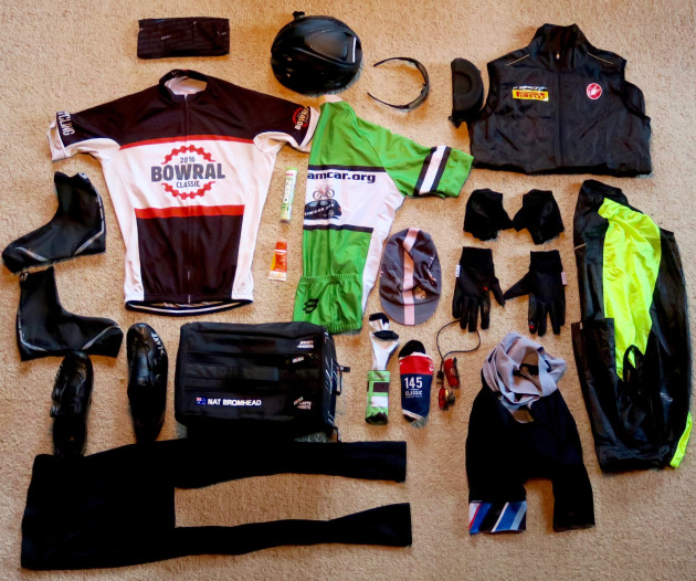 1a9a5076253 2 x Baselayer T-Shirt 1 x Rain vest 1 x Cycling Cap 2 x Wind Vest 2 x Arm  Warmers