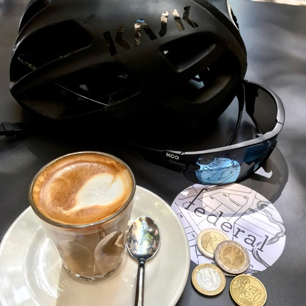 A strong cycling culture is rapidly developing in Girona - take a break at one of the local cafes and chances are you'll be mixing with numerous other amateur and professional cyclists alike. Image: Nat Bromhead