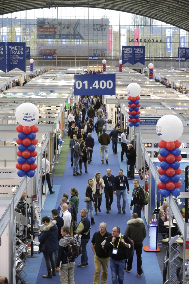METSTRADE 2017 drew visitors from 116 countries, mainly from Europe.