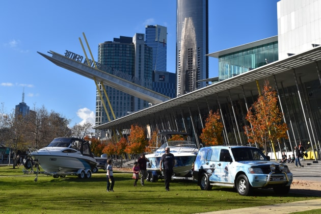 The Melbourne Convention & Exhibition Centre will host the boat show again in 2018.