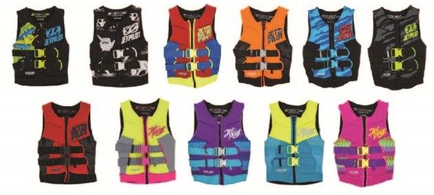 The Cause Kids Neo Vests from Jetpilot Australia.
