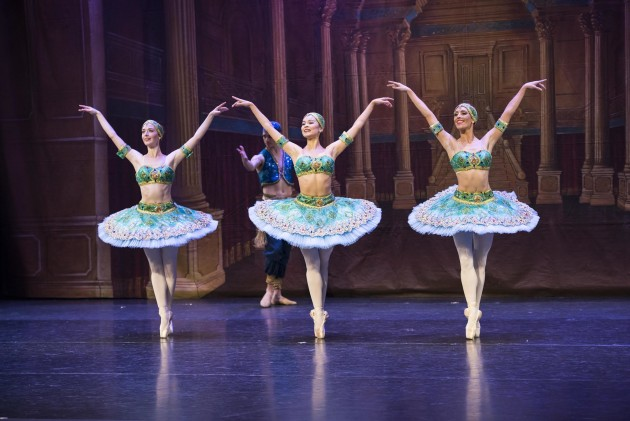 Artists of the Victorian State Ballet in 'Les Corsaire'. Photo: RON FUNG.