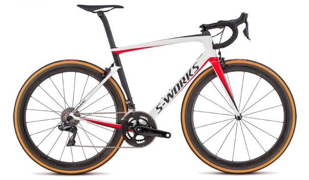 The new model Tarmac will be available in a number of updated colour schemes including the above.