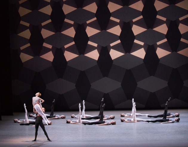 The New York City Ballet performing Justin Peck's 'Everywhere We Go'. Photo: PAUL KOLNIK