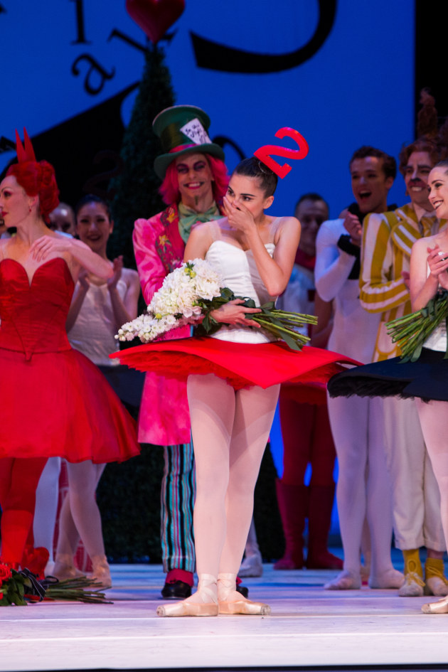 Surprise! Valerie Tresechenko's reaction to the announcement that she is 2017 Telstra Ballet Dancer of the Year.
