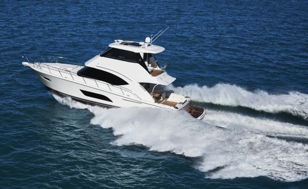 The Riviera 57 Enclosed Flybridge to debut at Auckland.