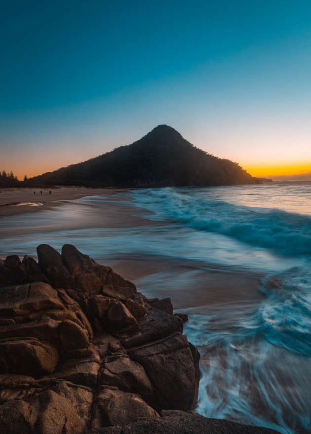 Sunrise at Zenith Beach.