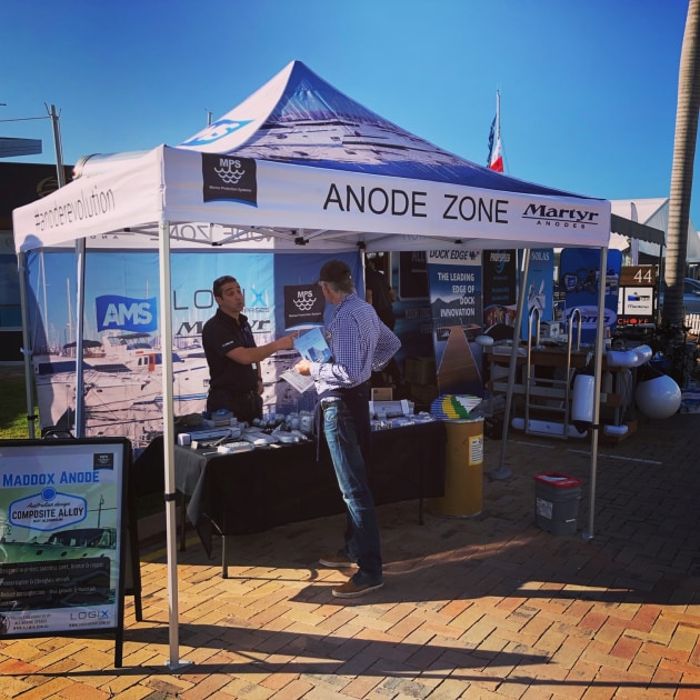 The Anode Zone is returning to this year's Sanctuary Cove International Boat Show, offering specialised advice on cathodic protection.