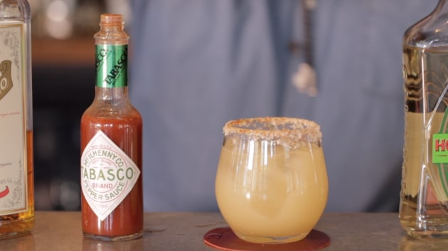 Recipe: Simon Hopkins' Smoked Jalapeño Margarita - foodservice