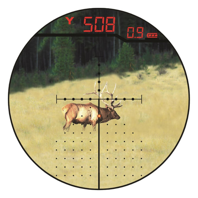 BURRIS Eliminator III reticle image