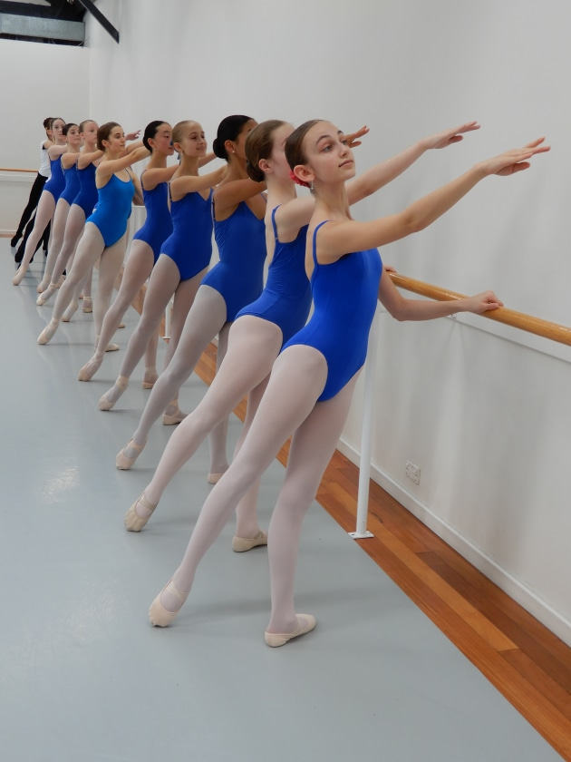 Students at Alegria Dance Studios in Sydney. Photo: Archilbald McKenzie.