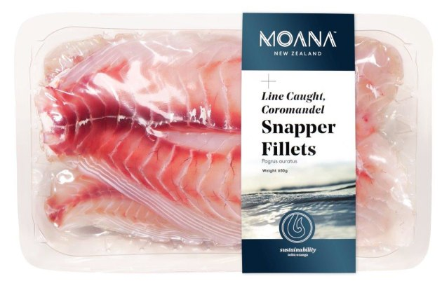 PIDA 2019 Finalist, Save Food Packaging: Plantic Technologies for the Plantic RV material that was designed for Moana seafood company to be able to supply fresh fish to the online meal delivery company 'My Food Bag'.
