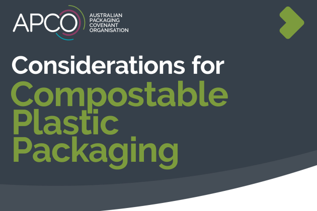 The guideline aims to help businesses make informed decisions when it comes to compostable plastics.