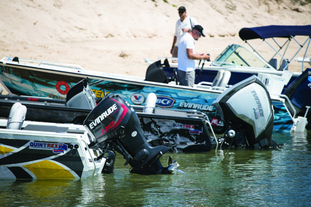 Evinrude E-TEC G2 models consume up to 20% less fuel while producing up to 30% more torque.