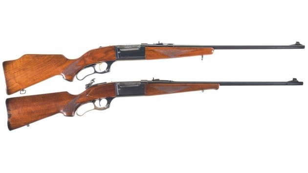 Two Savage Model 99s in .22 Savage High-Power