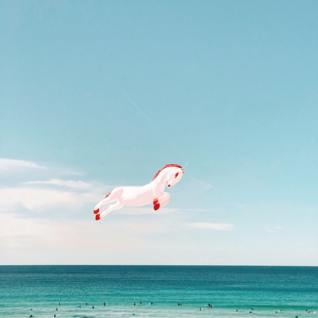 © Lulu Pinkus. 2nd Place - Mobile Prize. Cloud surfing.