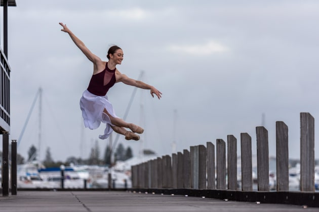 Sara Ouwendyk. Photo: @johndaviddancephotography