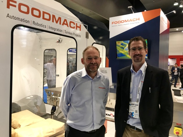 Phil Biggs and Earle Roberts, Foodmach.