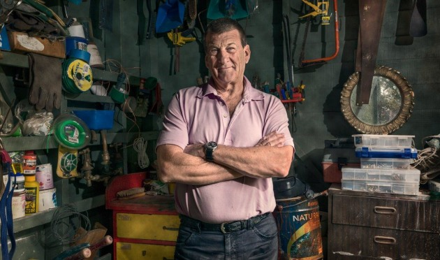 "Jeff Kennett, from ""Men and their Sheds"". © Craig Wetjen."