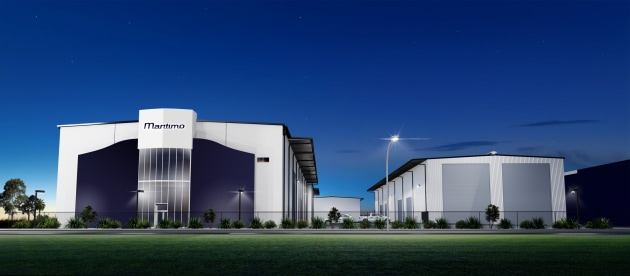 An artist's impresssion of the new Maritimo facility.