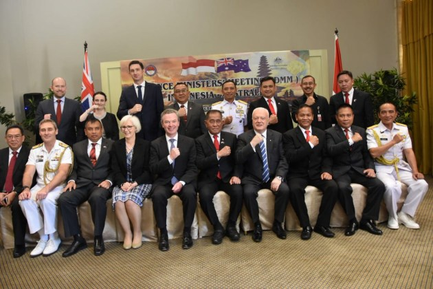 Minister Pyne met his Indonesian counter-part over the weekend. C. Pyne via Twitter