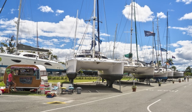 Multihull Solutions is hosting a free Multihull Boat Show at its Gold Coast Sales Centre at The Boat Works on Saturday 23 March.