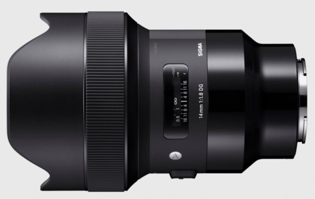 Sigma Art 14mm f/1.8 for Sony E-mount